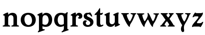 OPTIEdwallian-Bold Font LOWERCASE