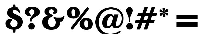 OPTIEdwallianExtraBold Font OTHER CHARS