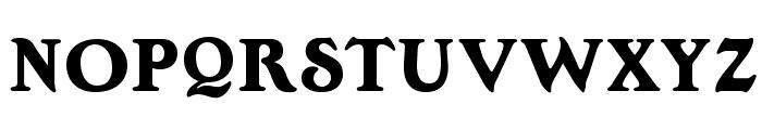 OPTIEdwallianExtraBold Font UPPERCASE