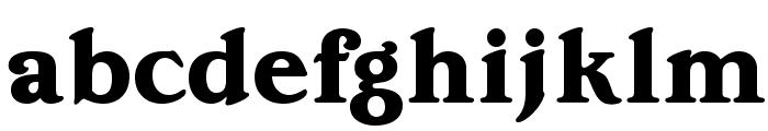 OPTIEdwallianExtraBold Font LOWERCASE