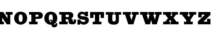 OPTIEgiziano-Normal Font UPPERCASE