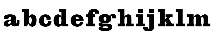 OPTIEgiziano-Normal Font LOWERCASE