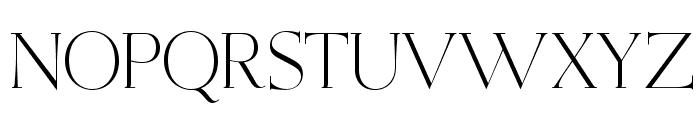OPTIEisen-Light Font UPPERCASE
