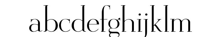 OPTIEisen-Light Font LOWERCASE