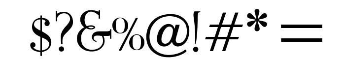 OPTIEisen-Medium Font OTHER CHARS