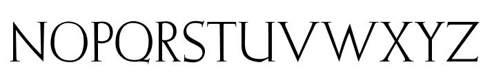 OPTIElizabeth-Roman Font UPPERCASE