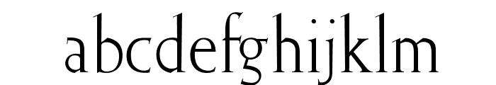 OPTIElizabeth-Roman Font LOWERCASE