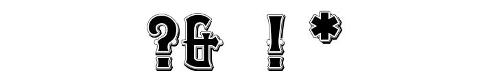 OPTIEmporium-Ten Font OTHER CHARS