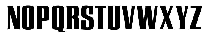 OPTIEnraged-BoldAD Font UPPERCASE