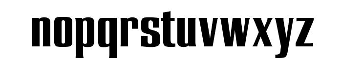 OPTIEnraged-BoldAD Font LOWERCASE
