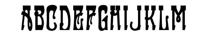 OPTIFanfare Font UPPERCASE
