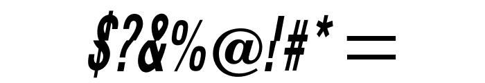 OPTIFaultLine Font OTHER CHARS