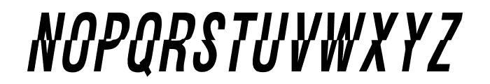 OPTIFaultLine Font UPPERCASE