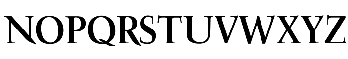 OPTIFavrile-Bold Font UPPERCASE