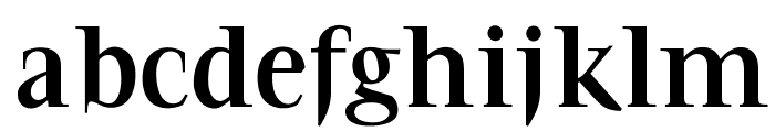 OPTIFavrile-Bold Font LOWERCASE