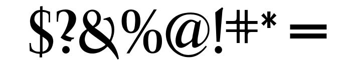 OPTIFavrile-Medium Font OTHER CHARS