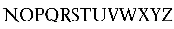 OPTIFavrile-Medium Font UPPERCASE