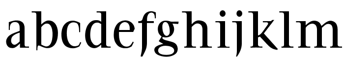 OPTIFavrile-Medium Font LOWERCASE