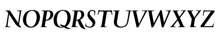 OPTIFavrileBold-Italic Font UPPERCASE