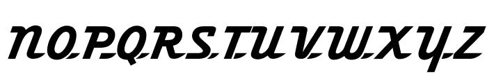 OPTIFleetWing-FortyFour Font UPPERCASE