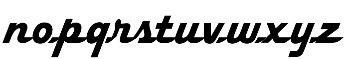 OPTIFleetWing-FortyFour Font LOWERCASE