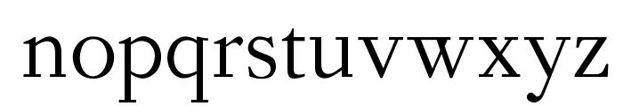 OPTIForquet-Oldstyle Font LOWERCASE