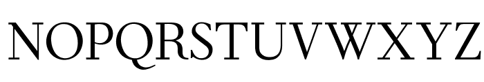 OPTIForquetOldstyle-Suppl Font LOWERCASE
