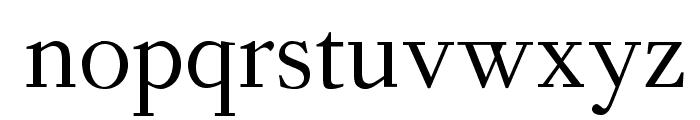 OPTIForquetOldstyleFig Font LOWERCASE