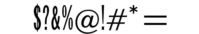 OPTIFranklinGothTrplCndSix Font OTHER CHARS
