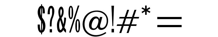 OPTIFranklinGothic-TrplCnd Font OTHER CHARS