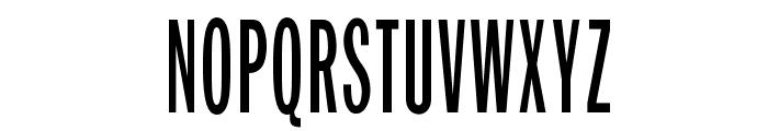 OPTIFranklinGothic-TrplCnd Font UPPERCASE