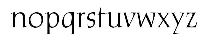 OPTIFrome Font LOWERCASE