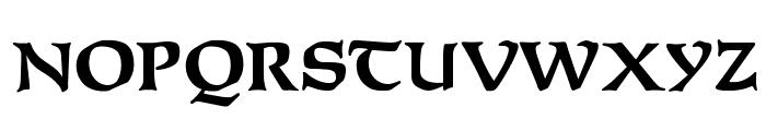 OPTIFurst-Bold Font UPPERCASE