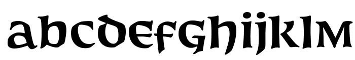 OPTIFurst-Bold Font LOWERCASE