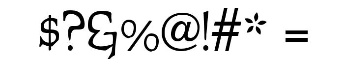 OPTIFurst Font OTHER CHARS