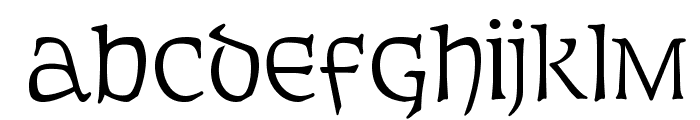 OPTIFurst Font LOWERCASE