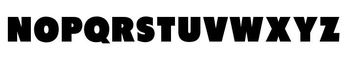 OPTIFutura-BlackAgency Font UPPERCASE
