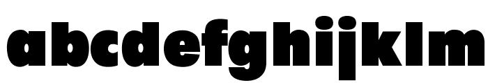 OPTIFutura-BlackAgency Font LOWERCASE