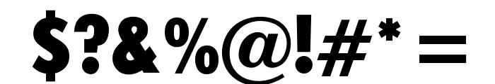 OPTIFutura-ExtraBlackCond Font OTHER CHARS