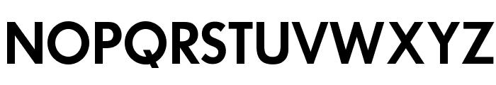 OPTIFuturaDemiBold Font UPPERCASE