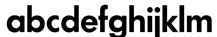 OPTIFuturaDemiBold Font LOWERCASE