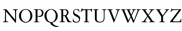 OPTIGaramond-Oldstyle Font UPPERCASE