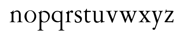 OPTIGaramond-Oldstyle Font LOWERCASE