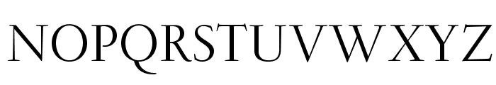 OPTIGaramondSpecial-Light Font UPPERCASE