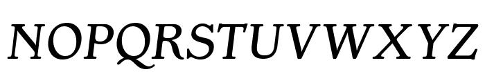 OPTIGargoyle-Italic Font UPPERCASE