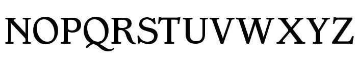 OPTIGargoyle-Normal Font UPPERCASE
