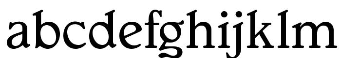 OPTIGargoyle-Normal Font LOWERCASE