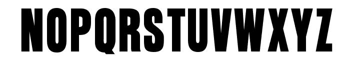 OPTIGaucho Font UPPERCASE