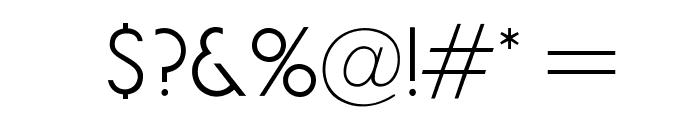 OPTIGermanicSans-Lite Font OTHER CHARS
