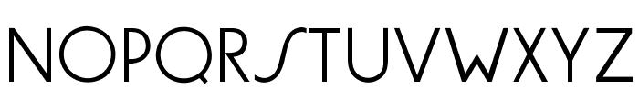 OPTIGermanicSans-Lite Font UPPERCASE